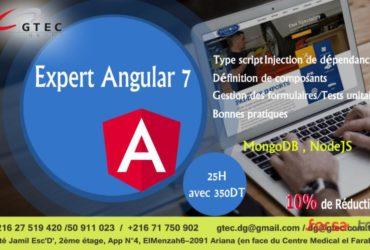 Formation pratique en angular 7