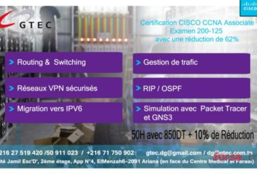 Formation CISCO CCNA Routing switching