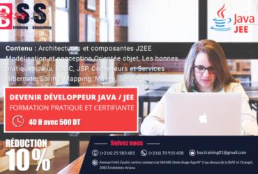 Concepteur/Développeur Java/J2EE -10% de réduction