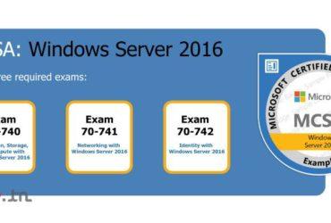 Devenir un administrateur Expert Windows Server 2016 #MCSA