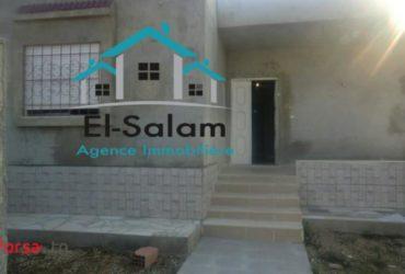 منزل للبيع في طور البناء بدار علوش مطل عل بحر