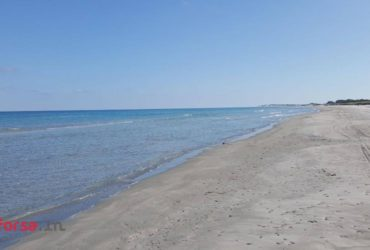 beau et agréable terrain prés de  plage