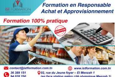 responsable achat et approvisionnement -IST FORMATION