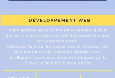 Développement des sites et des applications web