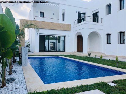 Villa Cyrine à Hammamet