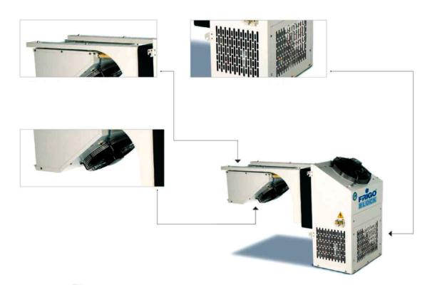 chambre froide modulaire frigo