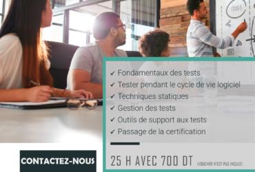 Formation ISTQB Foundation-Tunisie