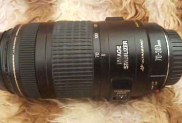 OBJECTIF CANON 70-300mm