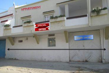 des appartements et maisons  à la marsa et le kram