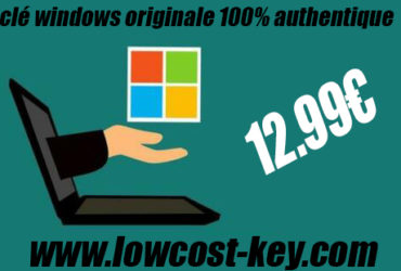 Licence windows 10 8 et 7