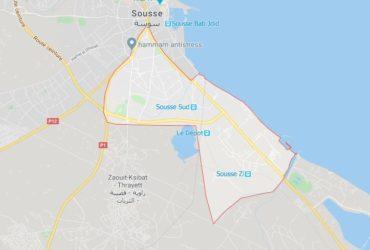 Un appartement pied dans l'eau à Sousse
