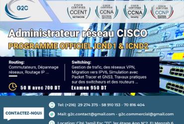 Formation Certification Réseaux CISCO CCNA – Nouvel examen 2020