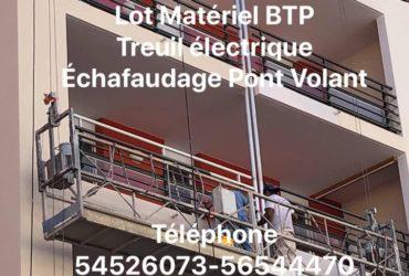 Matériel professionnel Bâtiment Locations-Vente