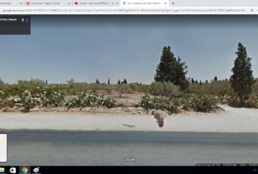"""À vendre terrain sur deux façades situé à Bni khiar – Nabeul """"الطريق الحزمية"""""""