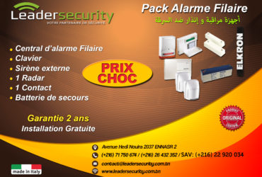 Leader Security: Alarme