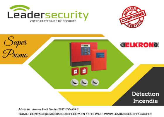 Leader Security: Détection incendie