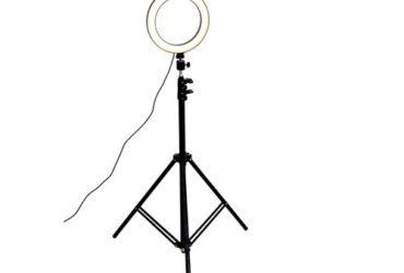 Ring light LED Lumière Anneau – Avec Trépied