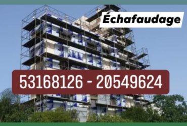 Location ECHAFAUDAGE FACADE