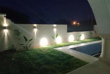 location villa avec piscine et jardin a kelibia au bord de mer