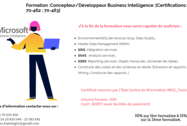 Formation En Microsoft Business Intelligence