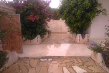 à louer jolie villa meublé à haouria plage