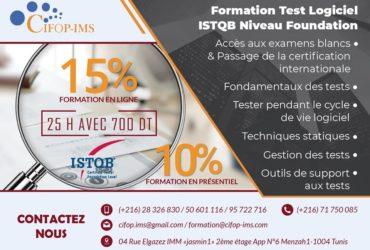 Formation Test logiciel, ISTQB niveau Foundation