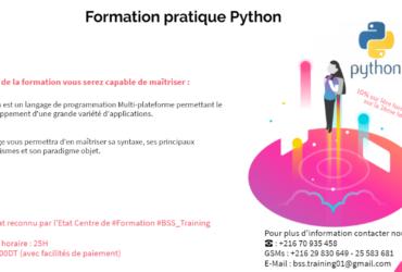 Formation Pratique en Python