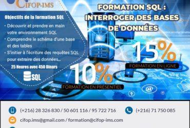 FORMATION Base de donnée #SQL