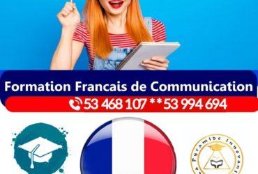 français de communication