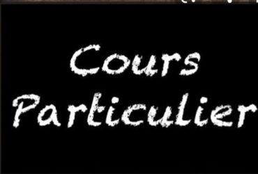 Cours particuliers(ÉTUDE)