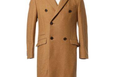 Manteau poil chameau