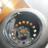 pneu Michelin neuf + jante ; dimensions:155/65 R14 75T