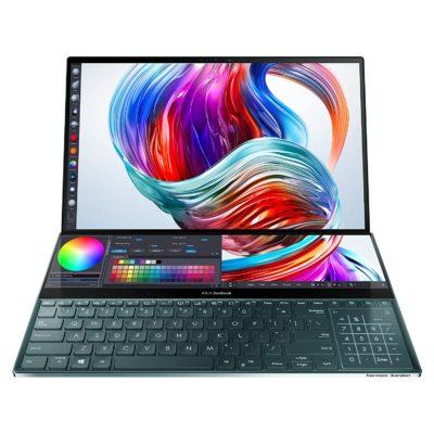 Asus zenbook Pro duo i9 32gb ram 1000gb ssd 4K