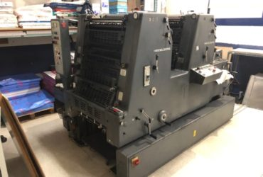 machine offset GTO 2 2 COULEURS HEIDELBERG