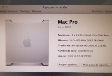 MAC PRO 10  Quad  Importé