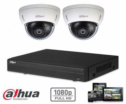 installation Camera de surveillance et systéme d'alarme
