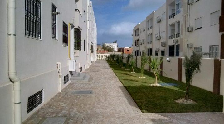 À louer appartement neuf s+2 1er étage à résidence Elyes 2 pour couple