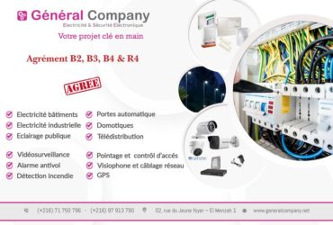 GENERAL COMPANY: Maintenance industrielle