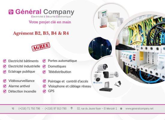 GENERAL COMPANY: Maintenance industrielle