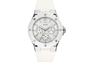 Guess Montre Femme-water resistant 50 meters/165 feet-W90084L1-Blanc