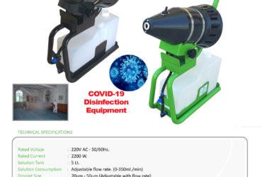 Nébulisateur  MINI ULV 20 microns