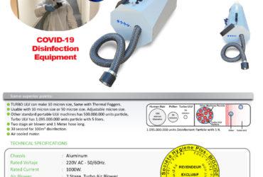 Nébulisateur  TURBO ULV 10 microns
