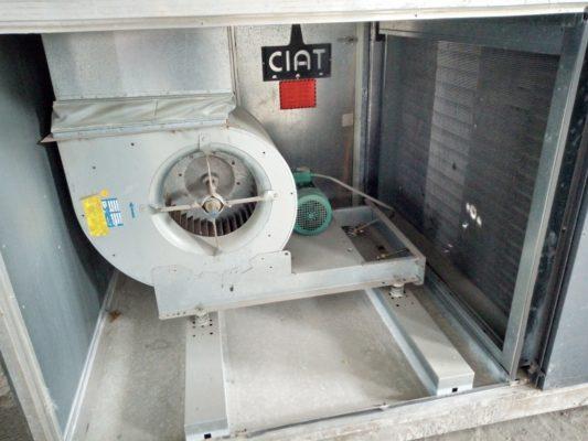 Centrale frigorifique de traitement d'air CTA