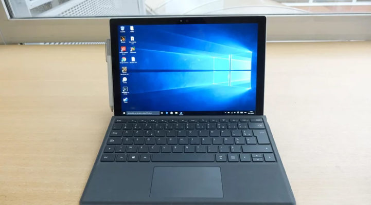 "Microsoft Surface Pro 4 – Core i5 6300U / 2.4 GHz -8 Go RAM – 256 Go SSD – 12.3"""