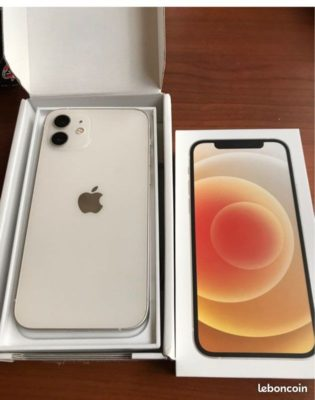 IPhone 12 64 go blanc
