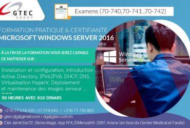 Formation Windows Server 2016